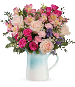 Teleflora's Fabulous Farmhouse T21M210B  Bouquet in Moses Lake, WA | FLORAL OCCASIONS