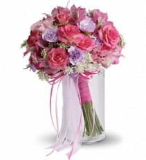 Teleflora's Fairy Rose Bouquet Hand Held Bouquet