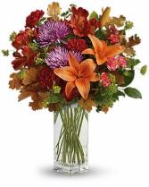 Teleflora's Fall Brights Bouquet Arrangement