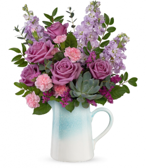 Teleflora's Farmhouse Chic T21M200B Bouquet in Moses Lake, WA | FLORAL OCCASIONS