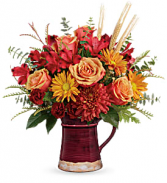 Teleflora's Fields Of Fall T19T200B Bouquet