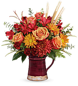Teleflora's Fields Of Fall T19T200B Bouquet in Moses Lake, WA | FLORAL OCCASIONS