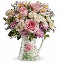 Teleflora's Fill my heart Pitcher