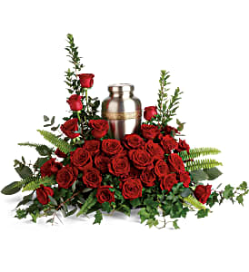 Teleflora's Forever in Our Hearts Urn  Sympathy/Funeral