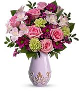 Teleflora's French Lavender vase