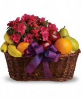 Teleflora's Fruit and Blooms Fruit Basket