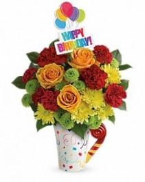 Teleflora's Fun 'n Festive Bouquet Birthday
