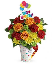 Teleflora's Fun N Festive Bouquet  Flower arrangement