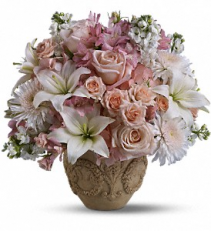 Teleflora's Garden of Memories     T221-1 Fresh Floral Arrangement