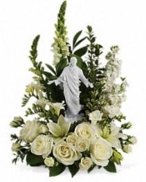Teleflora's Garden of Serenity Sympathy Flowers