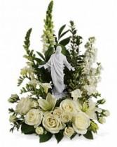 Teleflora's Garden of Serenity Funeral Flowers