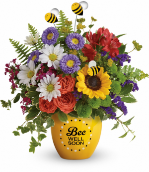 Teleflora's Garden Of Wellness Bouquet Keepsake in Mount Pearl, NL | MOUNT PEARL FLORIST