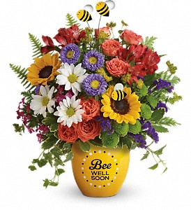 Teleflora's Garden Of Wellness TEV53-1B Bouquet in Moses Lake, WA | FLORAL OCCASIONS