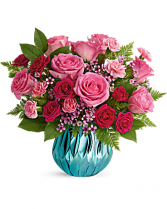 Teleflora's Gem of My Heart Bouquet Vase Arrangement