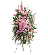 Teleflora's Glorious Farewell Standing Spray