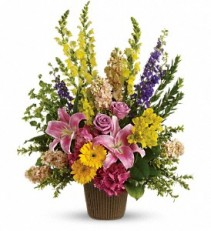 Teleflora's Glorious Grace Bouquet Sympathy