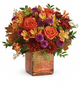Teleflora's Golden Amber   in Presque Isle, ME | COOK FLORIST, INC.