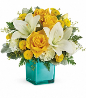 Teleflora's Golden Laughter everyday in Livermore, CA | KNODT'S FLOWERS
