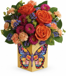 Gorgeous Gratitude Bouquet T18S100A   By Teleflora
