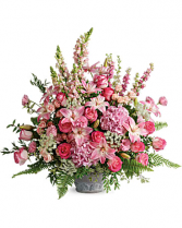 Teleflora's Graceful Glory Bouquet Urn