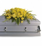 Teleflora's Graceful Granduer  Casket Spray