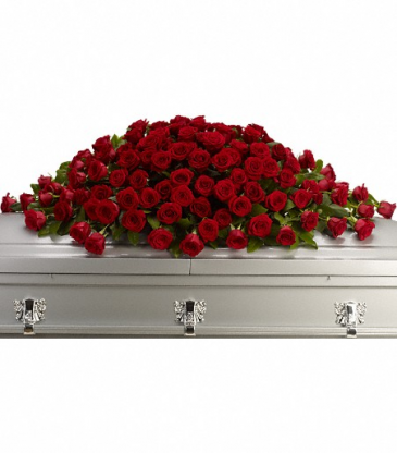 Teleflora's Greatest Love Casket Spray