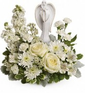Teleflora's Guiding Light Bouquet Sympathy Arrangement