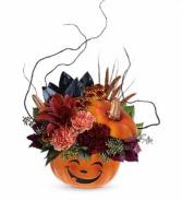 Teleflora's Halloween Magic Bouquet Centerpiece