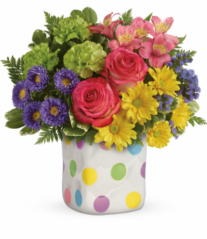 Teleflora's Happy Dots  in Livermore, CA | KNODT'S FLOWERS
