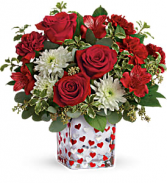 Teleflora's Happy Harmony Bouquet  floral arrangement