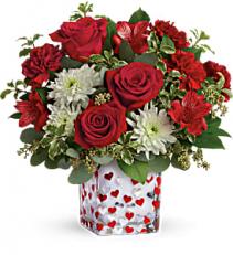 Teleflora's Happy Harmony Bouquet  floral arrangement