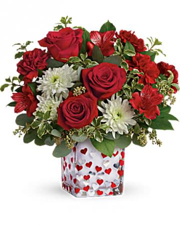 Teleflora's Happy Harmony Bouquet Valentine's