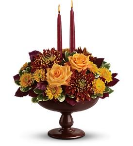 Teleflora's Harvest Bowl 10T100B Bouquet