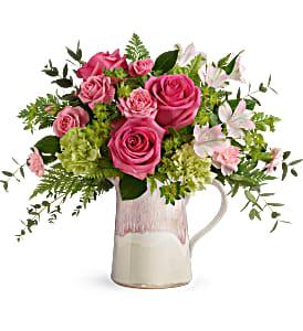 Teleflora's Heart Stone Bouquet  in Auburndale, FL | The House of Flowers