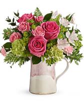 Teleflora's Heart Stone Bouquet bouquet