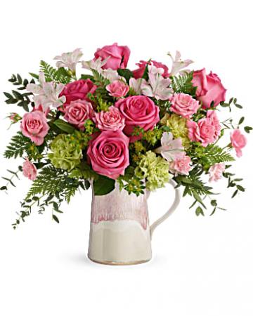 Teleflora's Heart Stone Bouquet Everyday