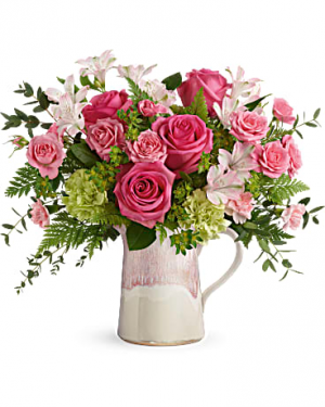 Teleflora's Heart Stone Bouquet Mother's Day / All Occasions in Las Vegas, NV | All In Bloom