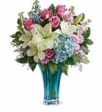 Teleflora's Hearts Pirouette Bouquet