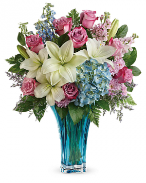Teleflora's Heart's Pirouette Bouquet  in Princeton, TX | Princeton Flower and Gift Shop