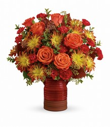 Teleflora's Heirloom Croc Fall