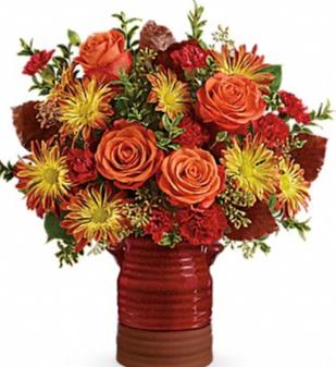 Teleflora's Heirlroom Crook Bouquet Thanksgiving