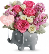 Telefloras Hello Sweet Baby Pink