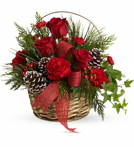 Telefloras Holiday Riches Basket