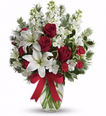 Teleflora's Holiday Snowflakes Christmas