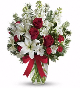 Teleflora Christmas Catalog 2021 Teleflora S Holiday Snowflakes Christmas In Valley City Oh Hill Haven Florist Greenhouse