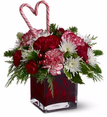 Teleflora's Holiday Sweetheart Christmas