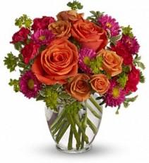 Teleflora's How Sweet It Is Vased Arrangement