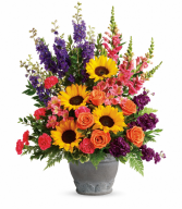 Teleflora's Hues Of Hope T279-1B Bouquet