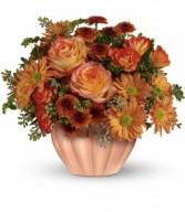 Teleflora's Joyful Hearth Bouquet Fresh Arrangement
