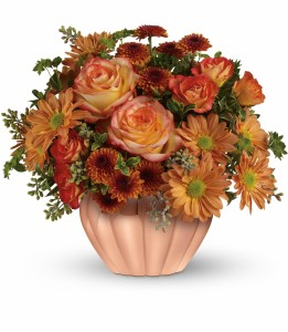 Teleflora's Joyful Hearth Bouquet Fresh Arrangement